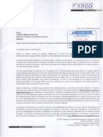 Carta al MINJUS sobre situación de víctimas de esterlizaciones forzadas