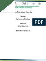 Portafolio Calculo Diferencial Unidad 2