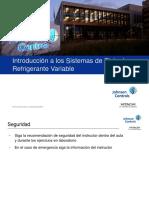 01 Introduccion a los sistemas VRF  york.pdf