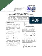Obtención de P-Toluensulfonato de Sodio