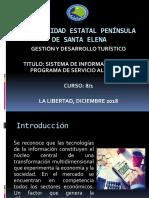 3.4 Sistema de Informacion en El Programa de Servicio Al Cliente