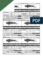 BFG Imperial Ship Cards BRB