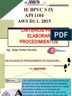 Criterios Elaborar Wps, Pqr, Wpqr