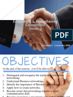 Establishing and Strengthening Connections