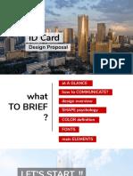 Proposal Design ID Card