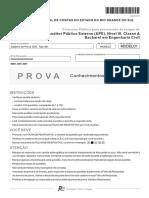 Fcc 2014 Tce Rs Auditor Publico Externo Engenharia Civil Conhecimentos Especificos Prova (22)