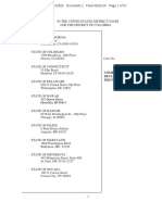 California v. Chao et al. Complaint
