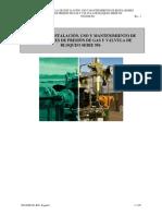 Instalación, Uso y Mantenimiento de Reguladores de presión.pdf