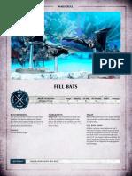 Aos Warscroll Fell Bats De
