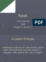 Egypt line of succession