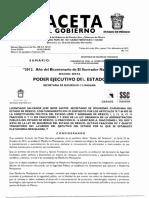 Plataforma Mexiquense Gaceta de Gobierno 2012