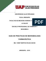 Guia de Practicas Microbiologia Farmacéutica