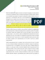 Acta- Sobre Alberto Rosales_ Ser y Subjetividad.