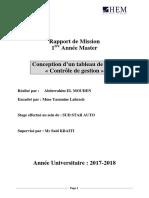 Rapport de Memoire
