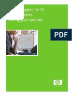 HP Designjet T610 User Guide
