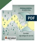 Saúde Vocal - Orientações SERVIDOR - AGO 2018