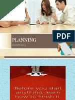 Chap 3 - Planning