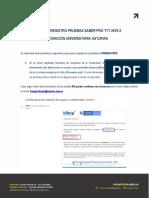 Instructivo Pruebas Saber Pro TyT 2019-2