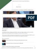 Rodrigo Maia Revela Que Ficou _sem Dormir_ Por Ataques de Filhos de Bolsonaro