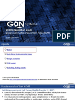 GaNSystems GN001 Design With GaN EHEMT Rev4 20180124