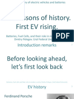 11-Lessons of History. Fist EV Rising