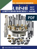 Catalogo Mitsubichi - Insertos Brocas y Herramientas