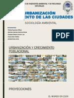 URBANIZACIÓN  CRECIMIENTO DE LA CIUDADES.pptx