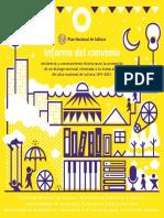 Plan Nacional de Cultura_Informe Del Convenio