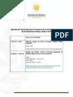 Agenda Pública de Venezuela ONU