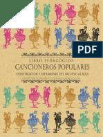 Libro Pedagogico Cancioneros Populares