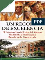 Un Record de Excelencia v2005ES Dr Ashely Deans