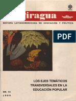 La Piragua 15, año 1999