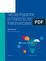 Two Day Programme on Finance for Non Finance Executives