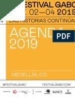 Programación del Festival Gabo 2019