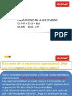 Obligaciones Del Supervisor DS 024 Rimac1