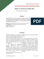 Joseph Needham y la Ciencia de la Antigua China por Dr. Victoriano Garza-Almanza1