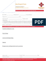 Aar Insurance New in Patient Preauthorization Form 2019
