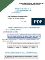 Si - Ley Del Codigo de Etica