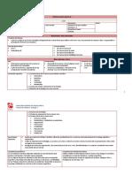 Dosificacion y Secuencia Didactica Biologia I
