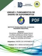 Diseño de Experimentos, Cap 1 y 10.