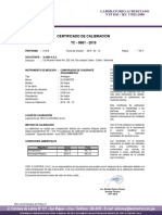 Certificado de Calibracion (RUGOSIMETRO)