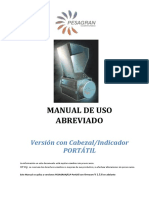 Manual USO Abreviado PESAGRAN Portatil 1.5.5
