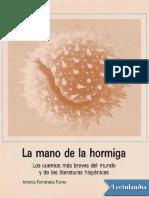 La mano de la hormiga - Varios Autores(1).pdf