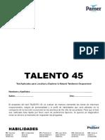 TALENTO 45