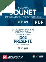 Franquias produtos SOUNET 2019