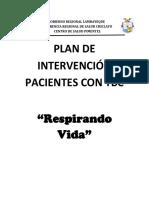Plan de Intervención Pacientes Con Tbc