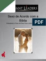 Sexo de Acordo Com a Biblia Anotacoes Do Professor
