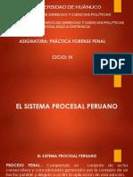 El Sistema Procesal Peruano