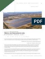 México, Una Futura Potencia Solar - Energy Management