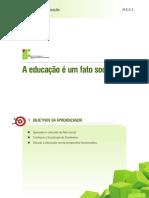 Aula 2 - A educação é um fato social.pdf